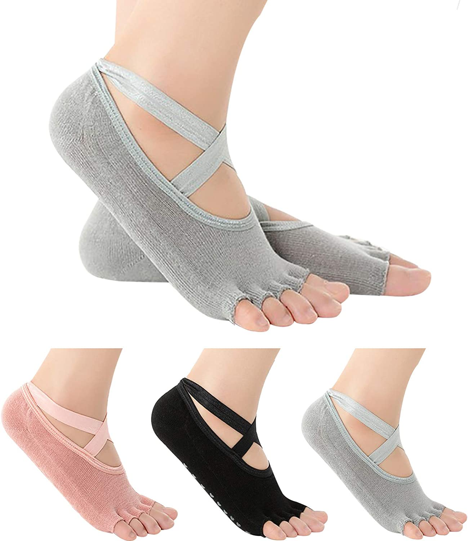 Yoga Socks for Women Non-Slip At the price Balle NEW Pure Barre Pilates Grips