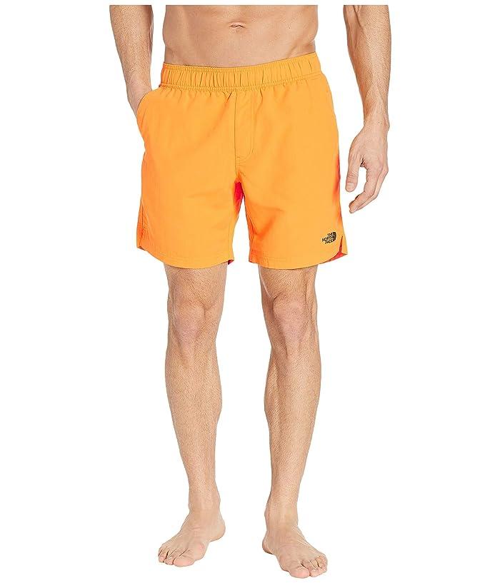 The North Face Class V 7 Pull-On Trunks (Zinnia Orange) Men