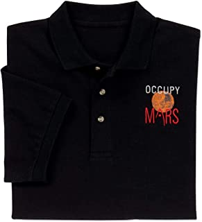 ComputerGear NASA Occupy Mars Official Logo Polo Shirt Men Women Girls Boys