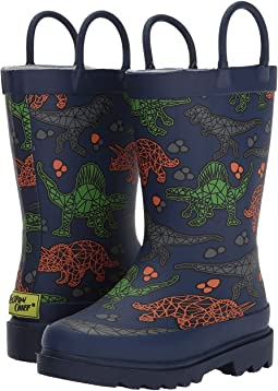 Western Chief Kids - Dino Facet Rain Boots (Toddler/Little Kid/Big Kid)
