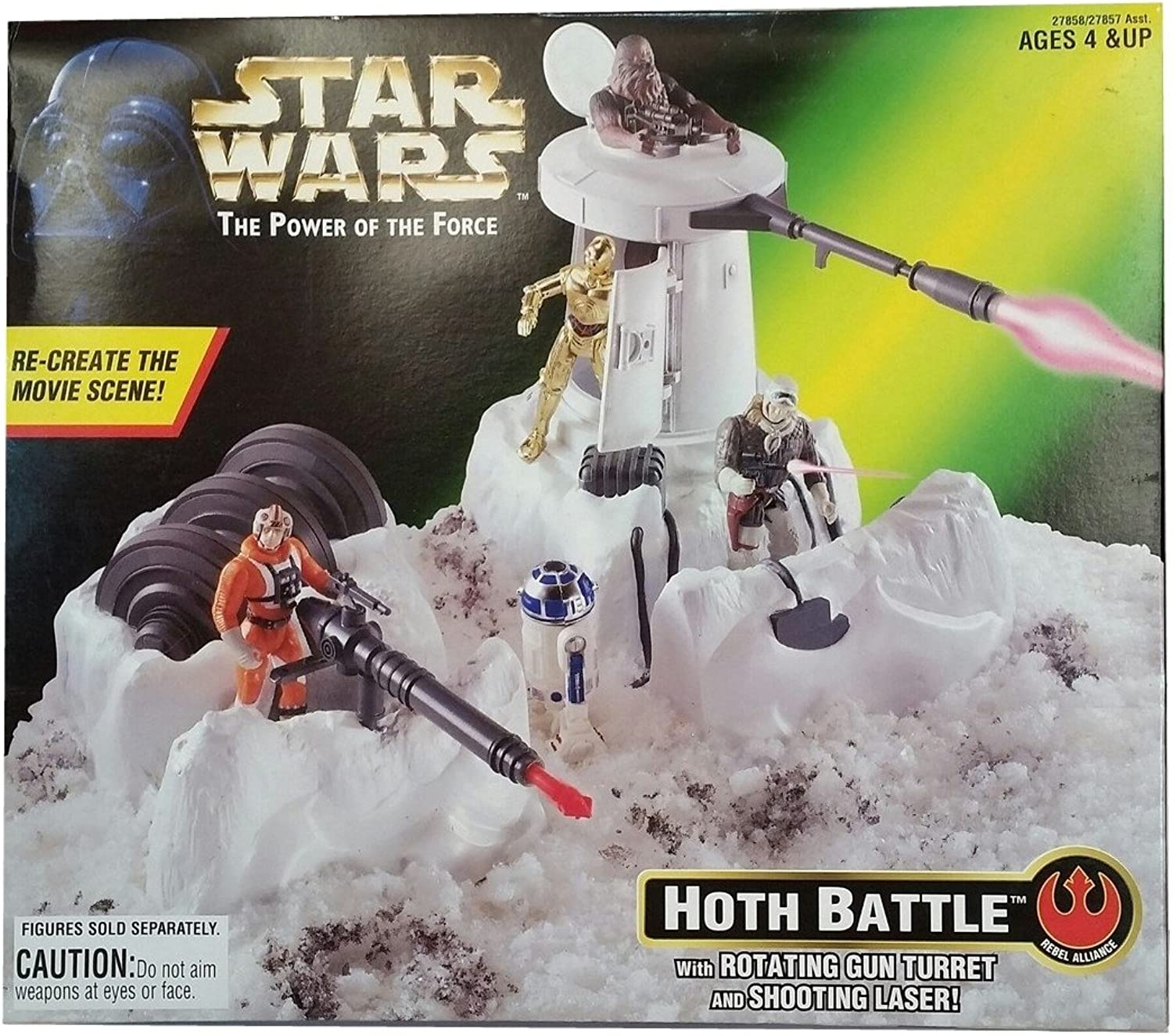 Star Wars Hoth Battle The Power of The Force  Rebel Alliance