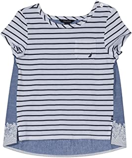 Nautica Girls' Short Sleeve Fashion Tee