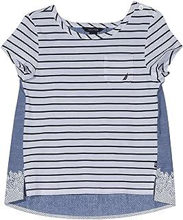 Nautica Girls' Short Sleeve Fashion Tee