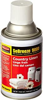 Rubbermaid Commercial SeBreeze 9000 Aerosol Air Freshener Refill, Assorted Fragrances, Pack of 6, FG5168000000