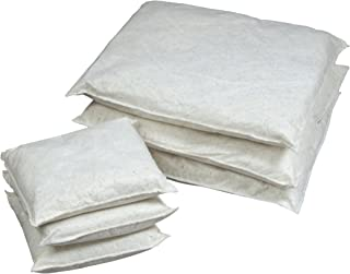 ESP 16WPILL1818 Poly-Cellulose Oil Only Super Absorbent Pillow, 36 Gallon Absorbency, 18 Length x 18 Width, White (Case of 16)