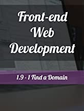 1.9 - 1. Find a Domain