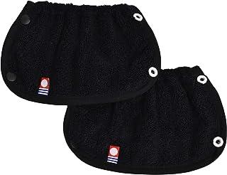 日本製 今治タオル ベビービョルン 抱っこ紐 ONE ONE KAI Airに使えるよだれカバー (ブラック)