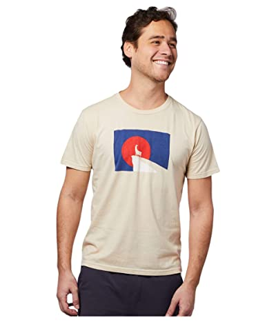 Cotopaxi Llama Got Out T-Shirt (Cream) Men