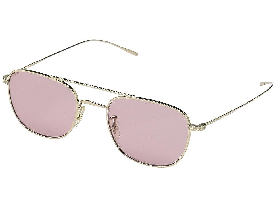 Oliver Peoples Kress (Gold) Fashion Sunglasses