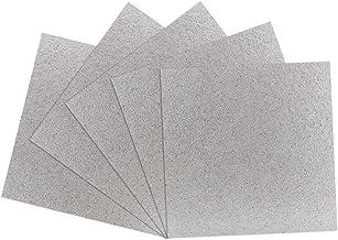 BUZIFU Microondas Placas de Mica, 5pcs Carton Microondas