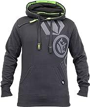 Crosshatch Mens Hooded Fleece Lined Sweatshirt PACIFIC (9552)