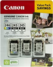 Canon Value Pack Genuine Canon Ink~ (2) PG- 245 XL ~ (1) CL- 246 Color