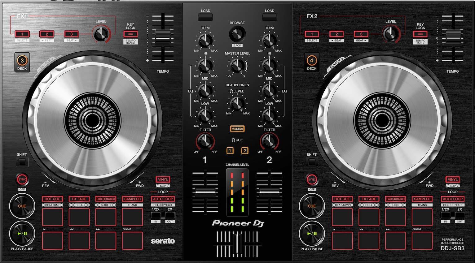 Pioneer DJ DDJ SB3 Controller