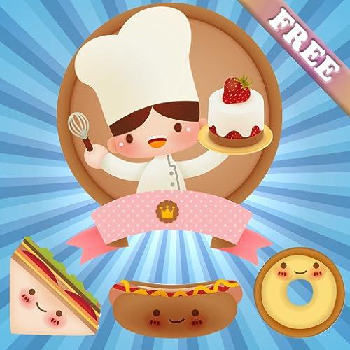 Essen für Kinder und Kleinkinder : Puzzle Spiele in der Küche ! Lernspiele - KOSTENLOS