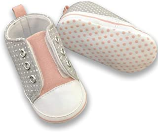 Baby Boys Girls Comfortable Canvas Shoes Lace-up Newborn Baby Toddler Fashion First Walkers Tollder Canvas Shoes
