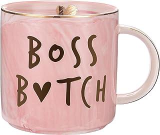 Boss Lady Mug - Best Gifts for Mom and Boss Women Friend - Funny Birthday Gifts for Boss Babe, Girl Boss, Best Boss, Girlf...
