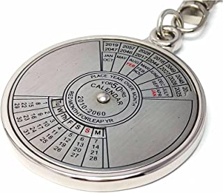 50 year calendar key chain from 2010 to 206