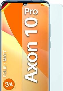 moex Skärmskydd matt kompatibel med ZTE Axon 10 Pro – film mot reflektioner, antireflekterande skärmskydd, matt skärmfilm...