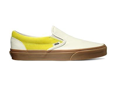 Vans Classic Slip-On ((Gum) Marshmallow/Cream Gold) Skate Shoes
