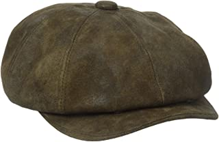 Stetson Men's Weathered Leather 8/4 Cap