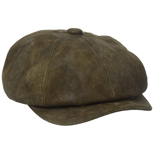 4d0dd1b6 Stetson Men's Weathered Leather 8/4 Cap