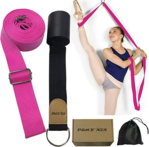 Price Xes Adjustable Leg Stretcher Lengthen Ballet Stretch Band - Easy Install on Door Flexibility Stretching Leg Str...