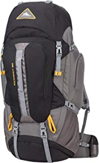 High Sierra Pathway Internal Frame Hiking Backpack 90L - Internal Frame Backpack with Hydration Port - Compatible with 3-Liter Hydration Reservoir - for Hiking, Camping, or Trekking Adventure