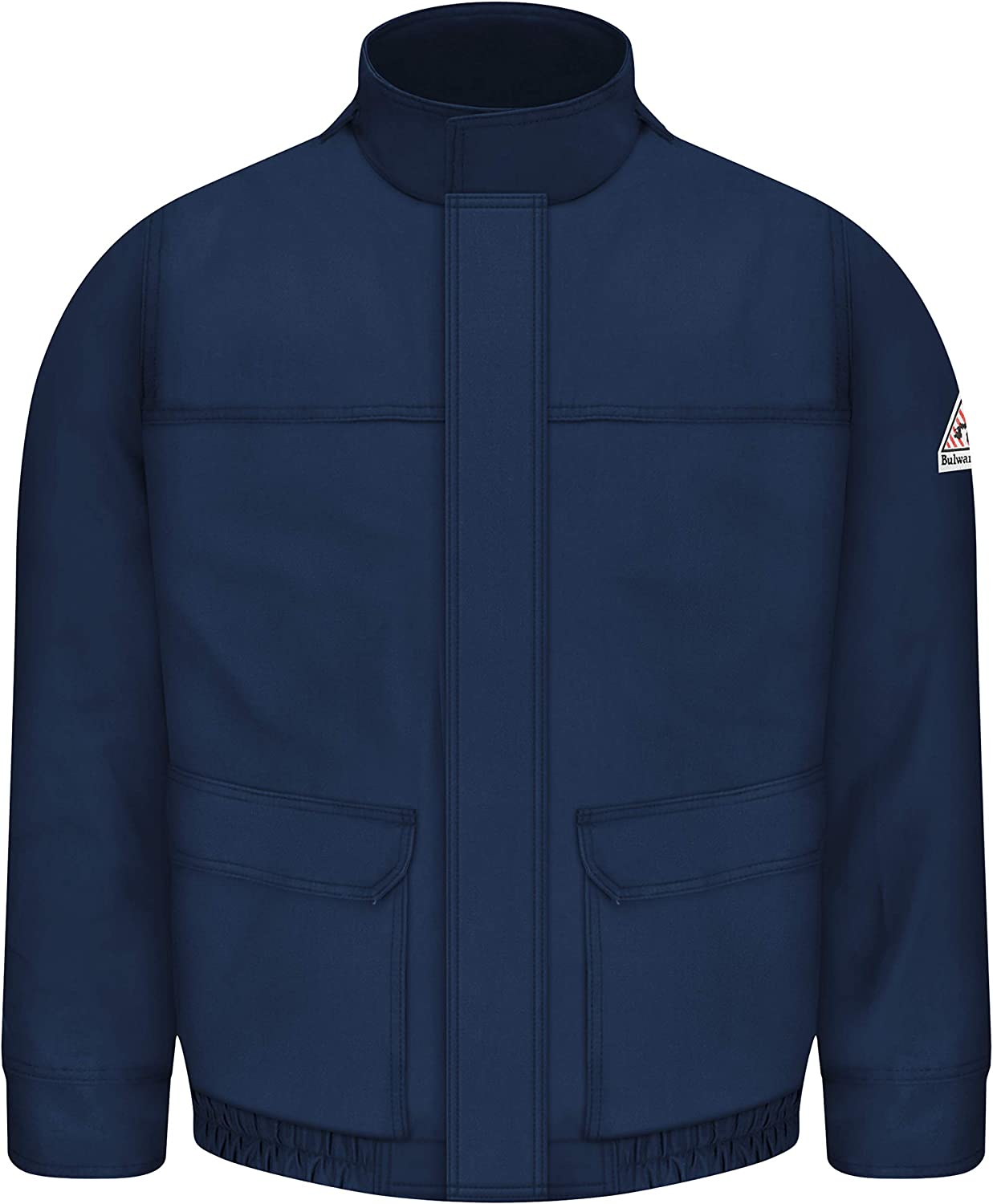 Bulwark Flame Resistant 7 oz Twill Cotton/Nylon ComforTouch Lined Bomber Jacket