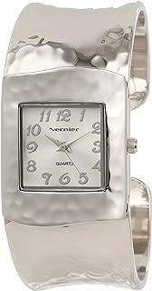 Vernier Women's VNR1832 Hammered Bangle Watch