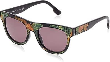 نظارة شمسية بتصميم افياتور من دولتشي اند غابانا للنساء - اطار بلون اسود، عدسات بلون رمادي، DG421-501/8G