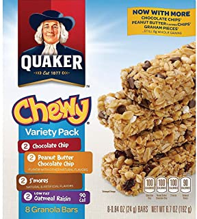 Quaker Chewy Variety Pack Granola Bars 6.7 oz