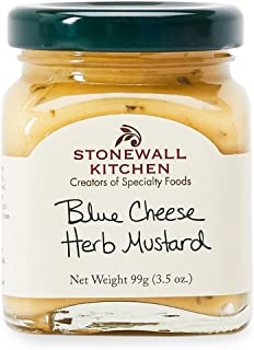 Stonewall Kitchen Blue Cheese Herb Mustard, 3.5 ounces