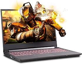 Sager NP6856 15.6 Inches Thin Bezel FHD IPS 144Hz Gaming Laptop, Intel Core i7-9750H, NVIDIA GTX 1660Ti 6GB DDR6, 16GB RAM, 500GB NVMe SSD, Windows 10 Home