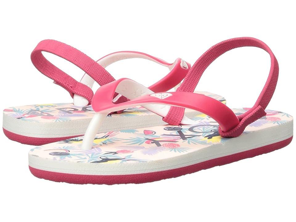 Roxy Kids Tahiti VI (Toddler) (Red) Girls Shoes