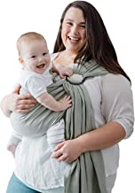 Nalakai Luxury Ring Sling Baby Carrier – Extra-Soft Bamboo and Linen Fabric –..