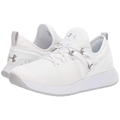 Under Armour UA Breathe Trainer (White/White/Metallic Blush) Women