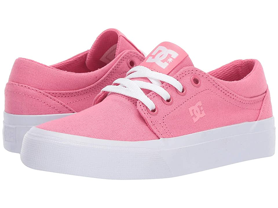 DC Kids Trase TX (Little Kid/Big Kid) (Strawberry) Girls Shoes