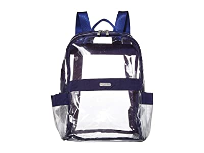 Baggallini Clear Event Compliant Medium Backpack (Dark Blue) Backpack Bags