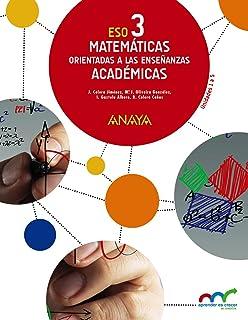 Matemáticas orientadas a las Enseñanzas Académicas 3. Trimestres. (Aprender es crecer en conexió