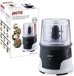 comprar comparacion Imetec CH 3000 - Picadora, 4 Cuchillas de Acero Inoxidable, Recipiente de Gran Capacidad de 600 ml, 18.000 rpm, Funcionami...