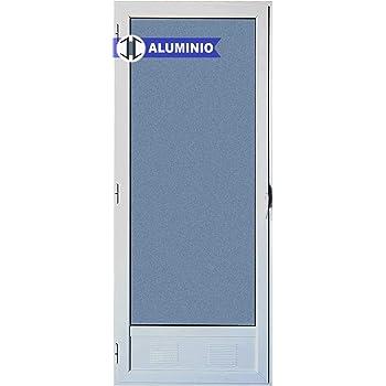 Puerta Balconera Aluminio Practicable izquierda 800 ancho x 2000 ...
