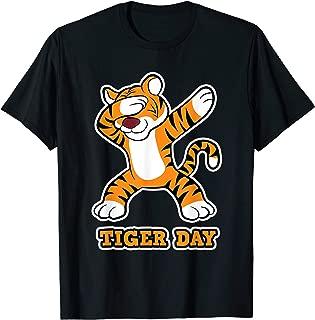 Funny dabbing Tiger on Tiger Day for Women Men & Kids T-Shirt