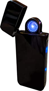 Electronic Radial Plasma Arc Lighter - Innovative New Design with Extra Wide Electric Spark - USB Rechargeable - Quality Gift Box