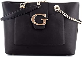 Luxury Fashion | Guess Womens HWVG7400230BLACK Black Tote | Fall Winter 19