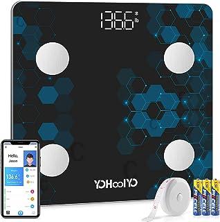 2020 Bathroom Body Fat Scale Smart Bluetooth Wireless Digital Scales for Body Weight Body Composition Analyzer Sync Data w...