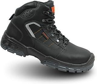 ERGOS Vigo s3 SRC sécurité chaussures travail Chaussures Haut Noir