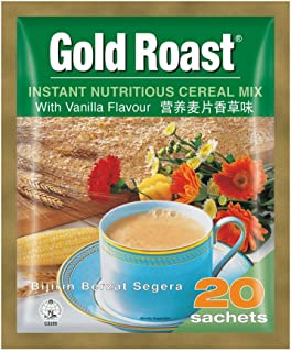 Gold Roast Instant Nutritious Cereal Mix Vanilla, 30 g (Pack of 20)