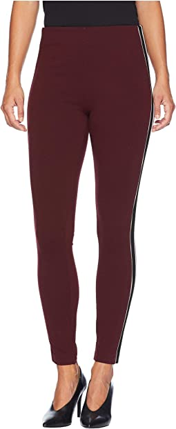 Drew Ankle Leggings Stripe in Super Stretch Ponte Knit