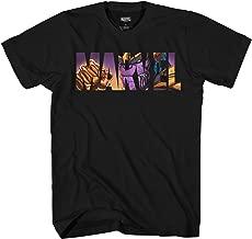 Marvel Logo Thanos Avengers Super Hero Adult Graphic Men's T-Shirt