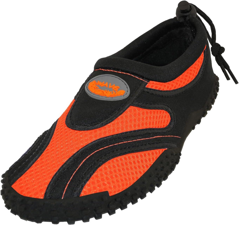 Easy USA Womens Aqua Wave Water Shoes